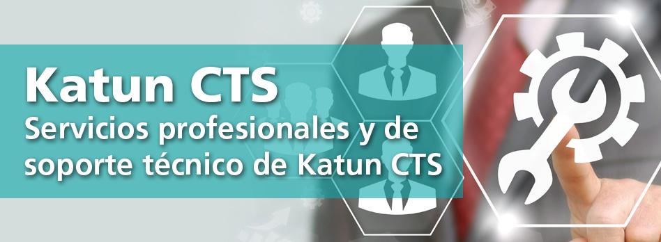 Servicios profesionales y de soporte técnico de Katun CTS