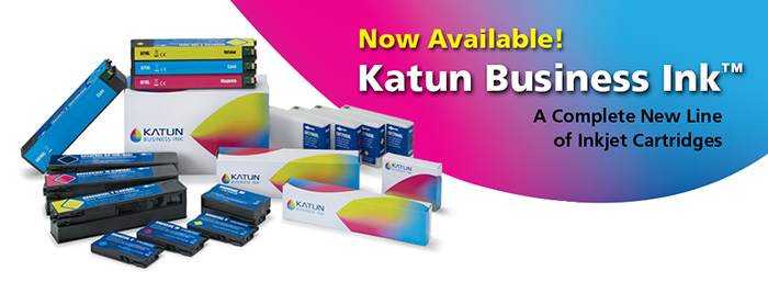 Katun Business Ink Banner