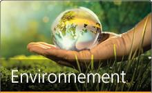 En savoir plus sur notre engagement pour l'environnement