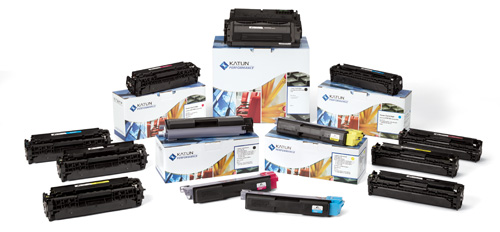 Printer Color Toners Group Shot
