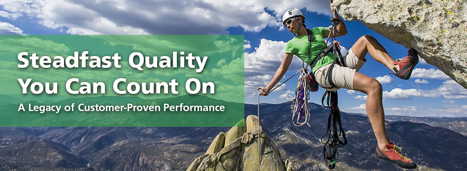 Steadfast Quality You Can Count On