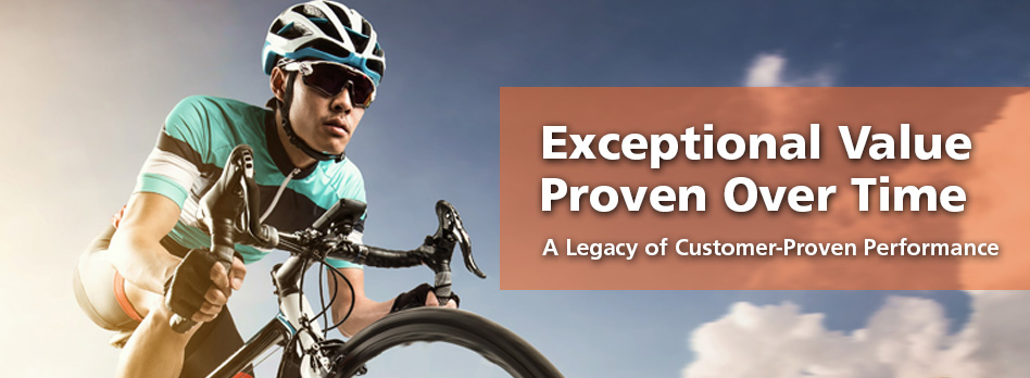 A Legacy of Customer-Proven Performance